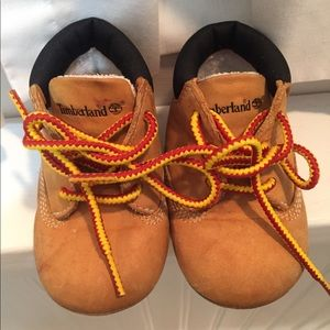 Timberlands Infant Size 2 Booties